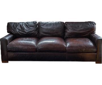 Custom Leather 3 Seater Sofa
