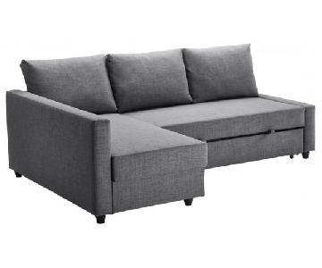 Ikea Friheten Sectional Sofa in Dark Grey