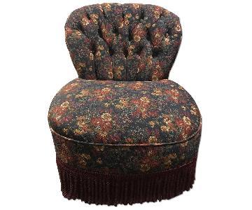 Antique Slipper Chair