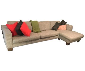 BoConcept Chaise Sectional Sofa