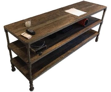 Restoration Hardware Dutch Industrial Media Table