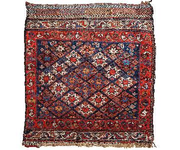 Antique1880s Persian Khamseh Bag Face