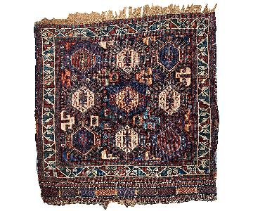 Antique 1880s Persian Khamseh Bag Face