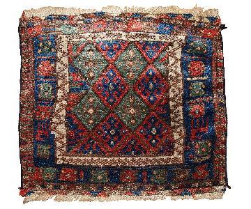 Antique 1880s Persian Kurdish Bag Face