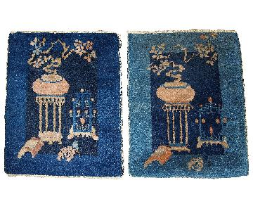 Antique 1870s Peking Chinese Rugs