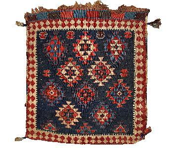 Antique 1880s Caucasian Kuba Bag