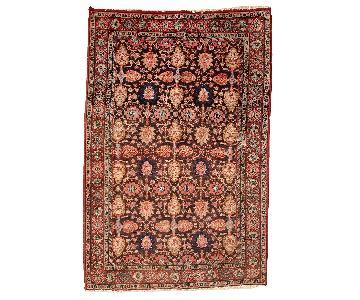 Antique 1930s Persian Bidjar Rug