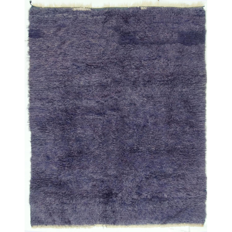 Vintage Turkish Tulu Wool Rug