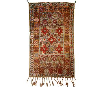 Antique 1900s Moroccan Berber Rug