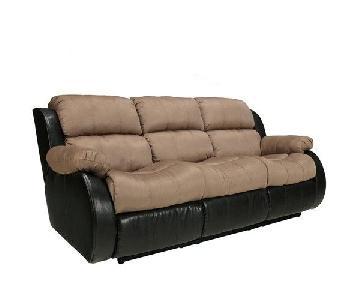 Ashley's 3 Seater Reclining Sofa