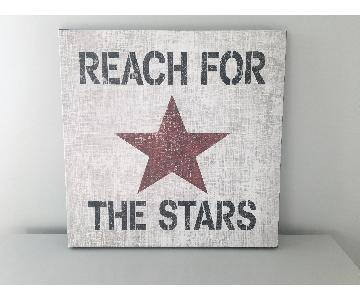 Canvas Wall Art - Reach for the Stars