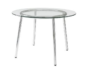 Ikea Salmi Glass Top Dining Table