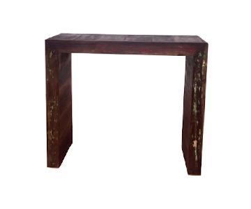 Eco-Friendly Reclaimed Wood Balcony/Bar Table