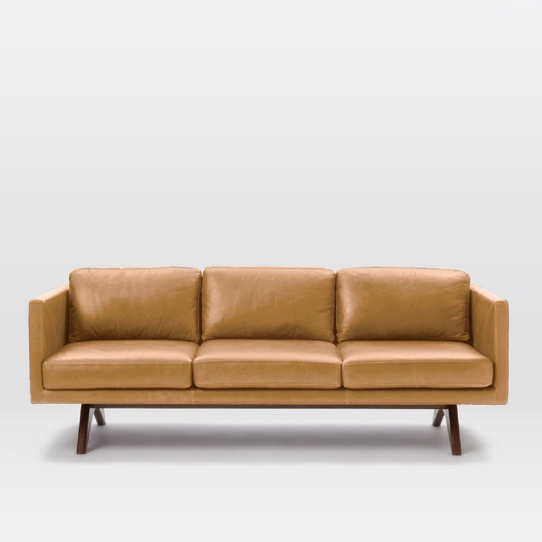 Good West Elm Brooklyn Leather Sofa ...