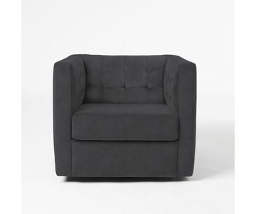West Elm Swivel Rochester Chair