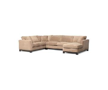 Macy's Kenton 3-Piece Chaise Sectional Sofa