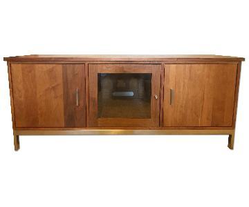Mid Century Modern Wood Credenza