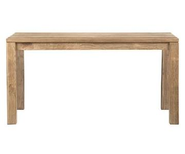 Crate & Barrel Pacifica Teak Dining Table