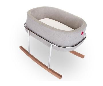 Monte Design Grey Rockwell Bassinet