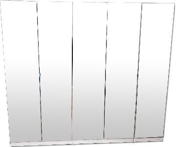 Contempo Space Mirror Storage Unit