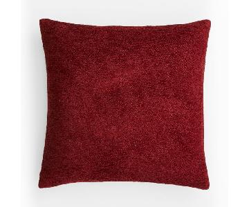 West Elm Textured Boucle Pillow w/ Insert