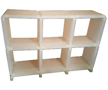 Semi Translucent Modular Shelving