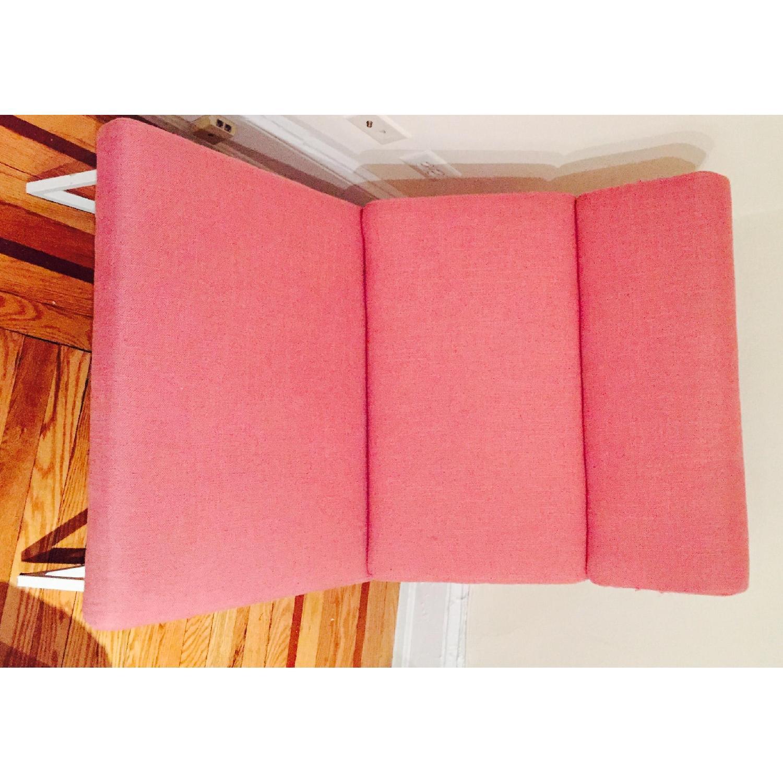 ABC Carpet & Home Salmon/Pink Rocking Chair - image-5