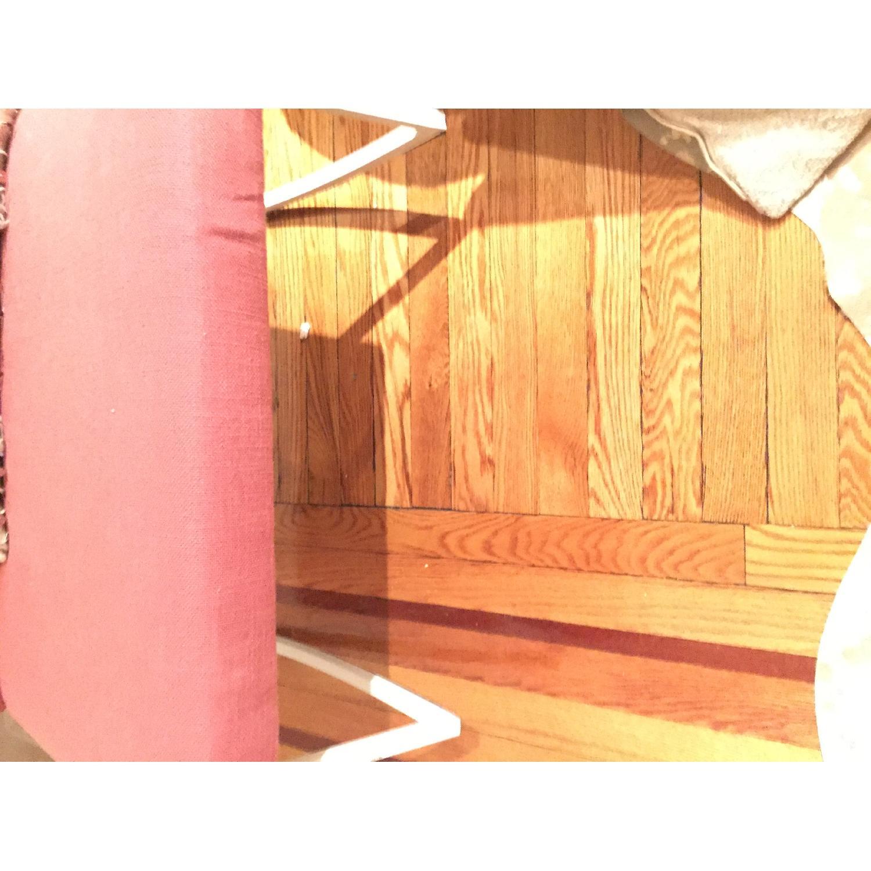 ABC Carpet & Home Salmon/Pink Rocking Chair - image-7