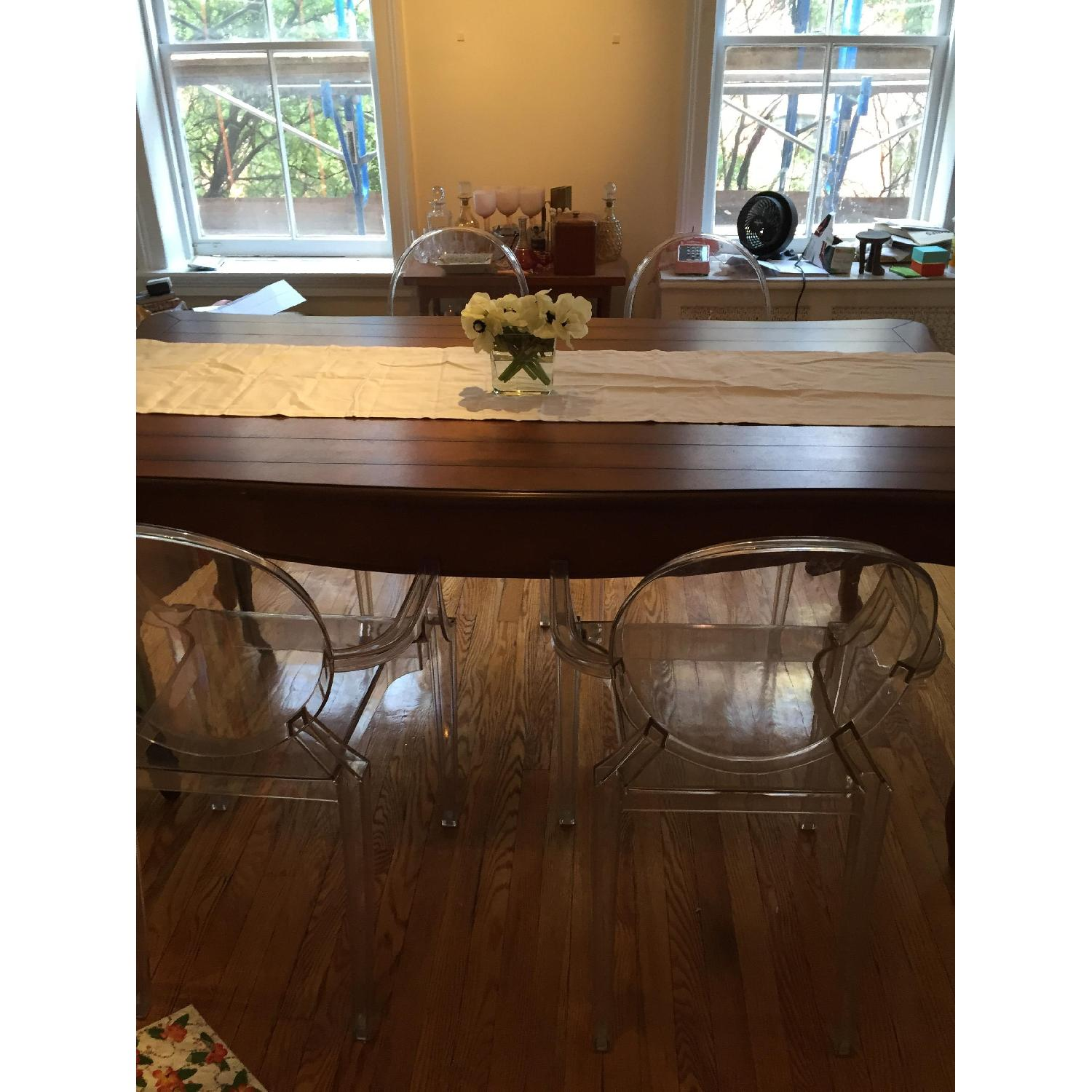 French Wooden Farm Table - image-10
