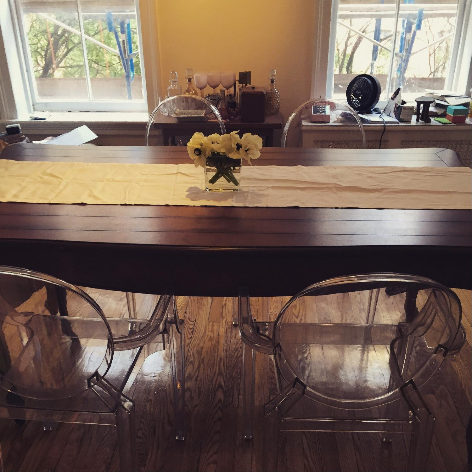 French Wooden Farm Table - image-11