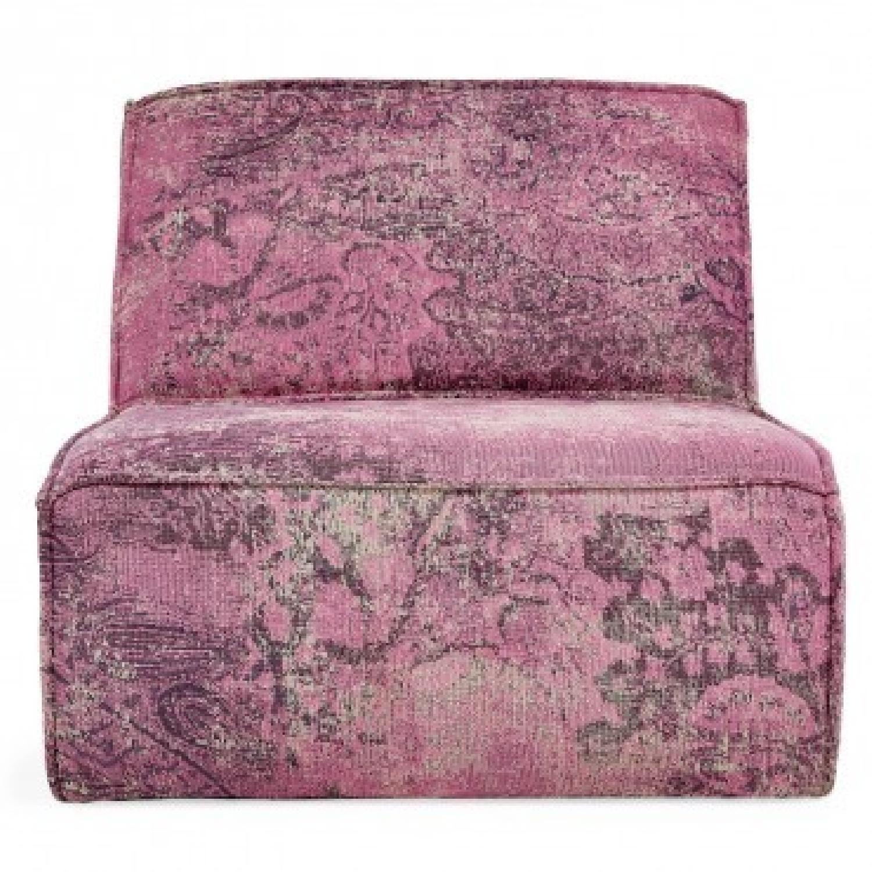 ABC Carpet & Home Mysticism Pink Memory Single Seat Sofa - image-0