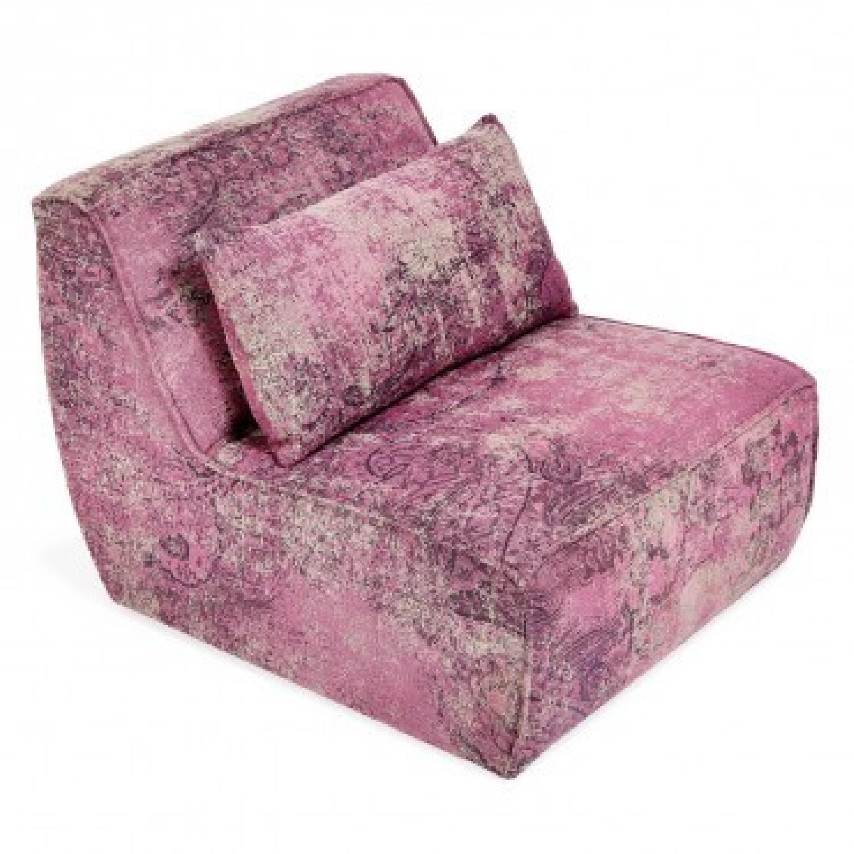 ABC Carpet & Home Mysticism Pink Memory Single Seat Sofa - image-2