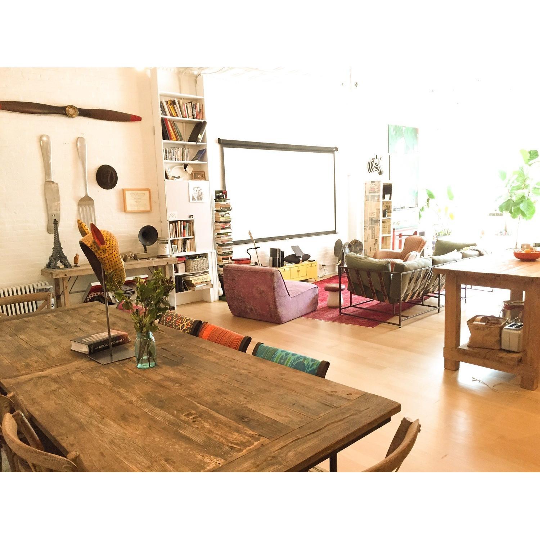 ABC Carpet & Home Mysticism Pink Memory Single Seat Sofa - image-3