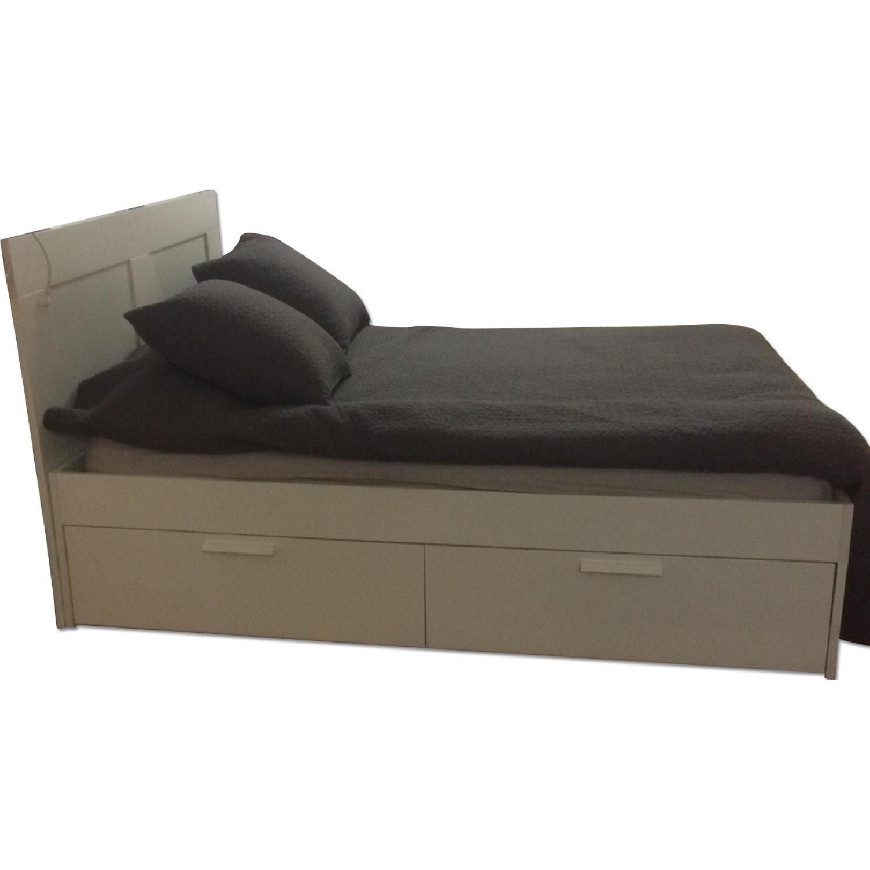 Ikea Brimnes Queen Size Bedroom Set Aptdeco