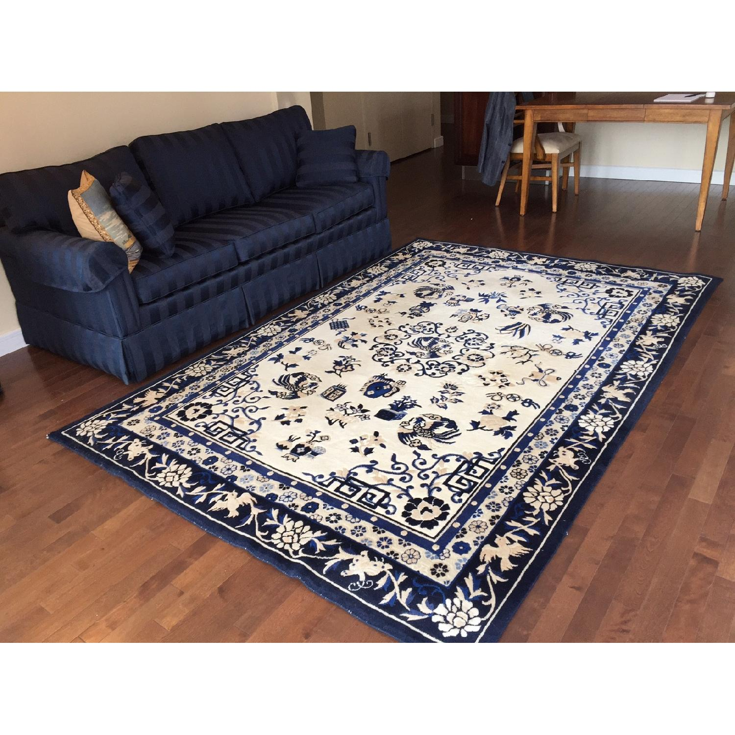 Ethan Allen Chinese Medallion Area Rug - image-1
