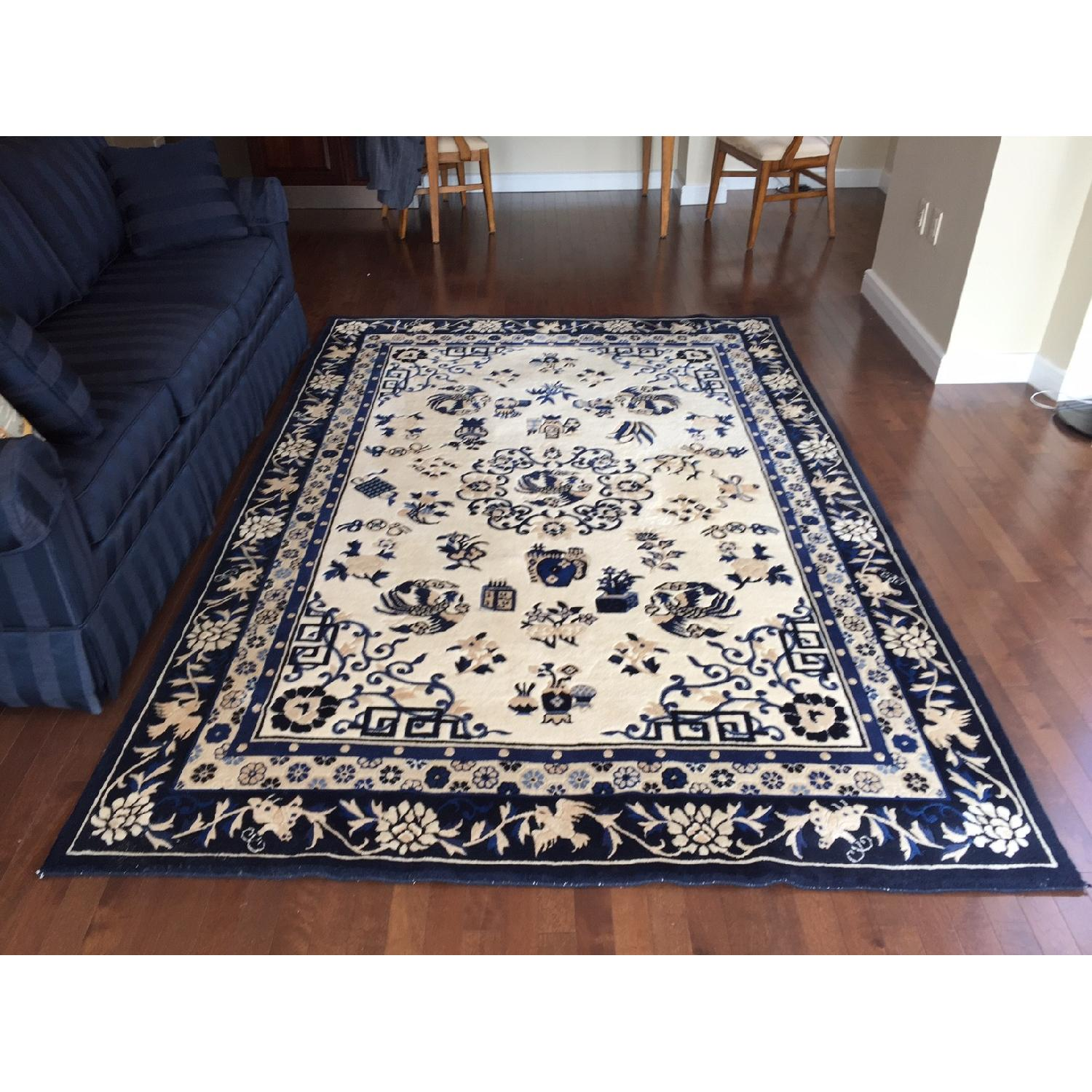 Ethan Allen Chinese Medallion Area Rug - image-2