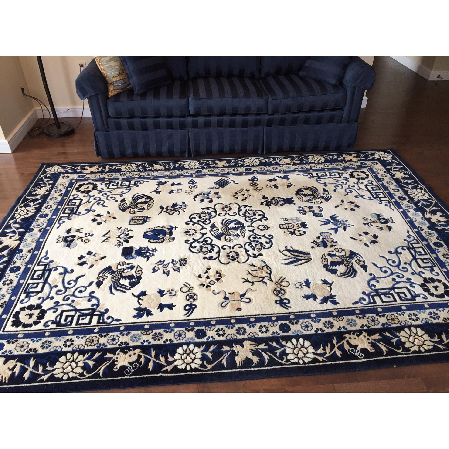 Ethan Allen Chinese Medallion Area Rug - image-3