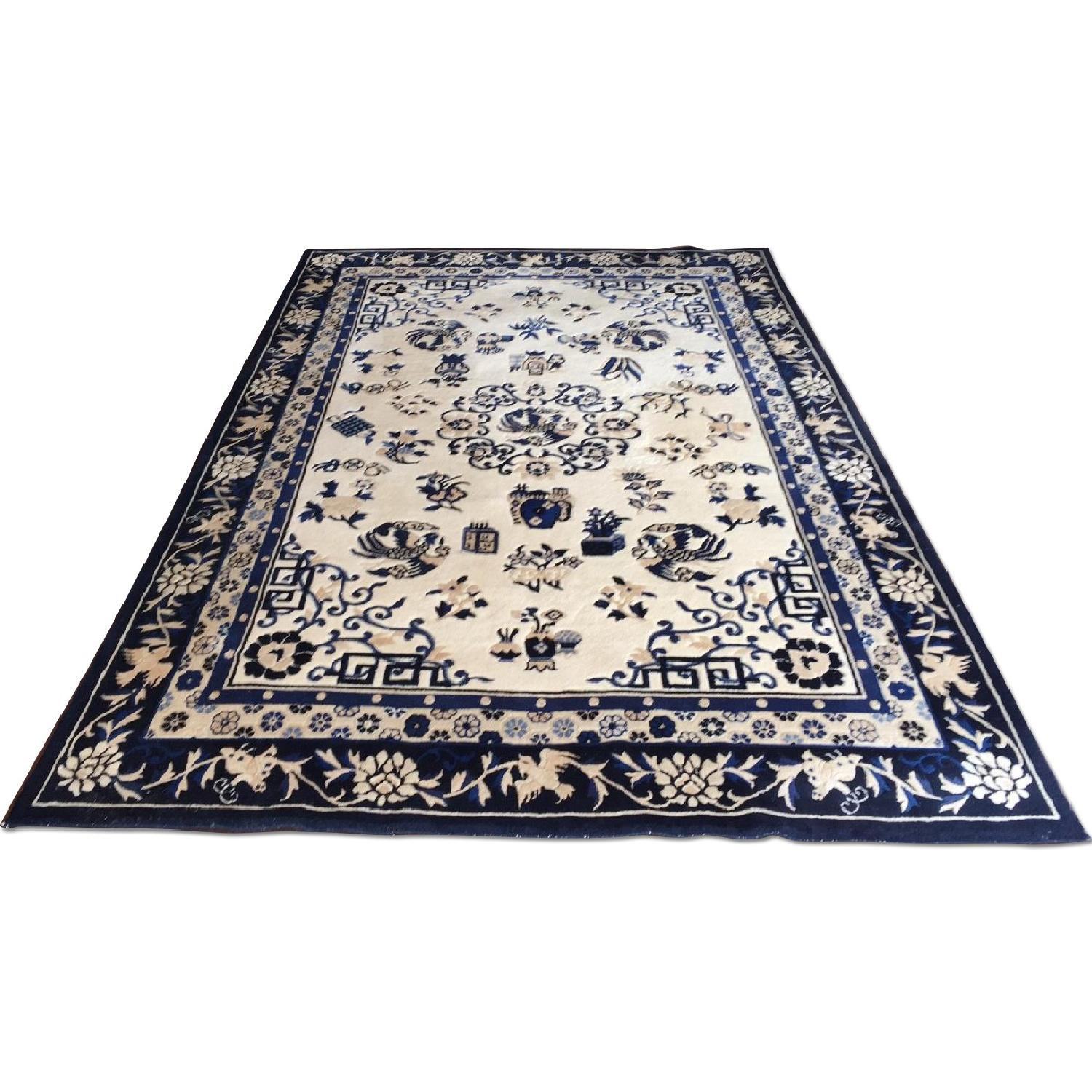 Ethan Allen Chinese Medallion Area Rug - image-0