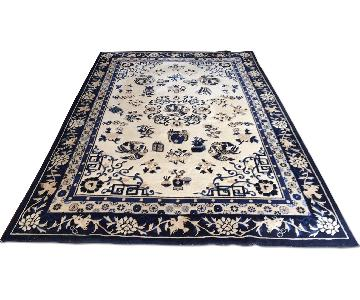 Ethan Allen Chinese Medallion Area Rug