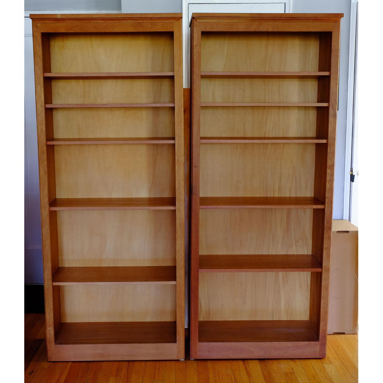 Crate & Barrel Matching Bookcase Set - image-4