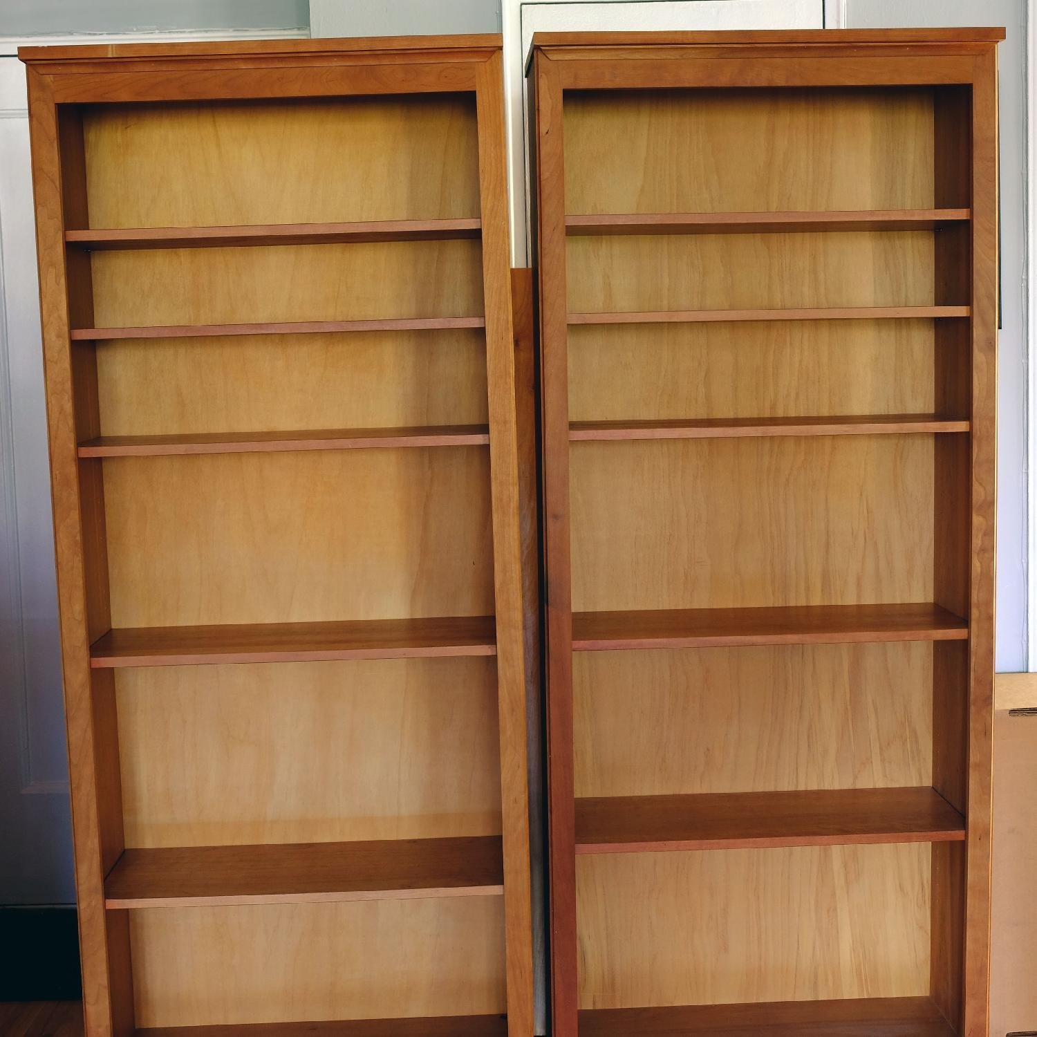 Crate & Barrel Matching Bookcase Set - image-5