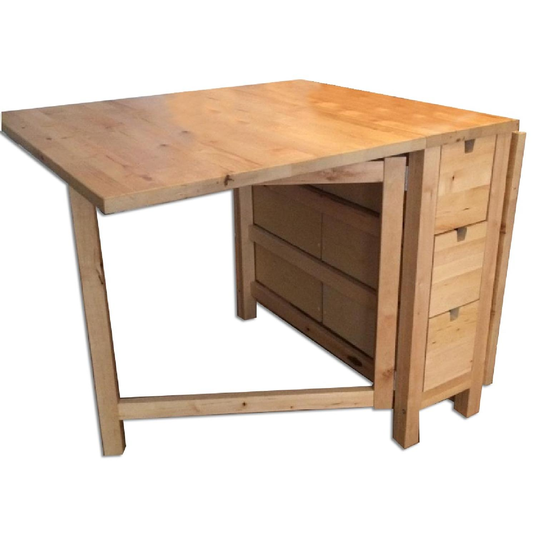 Ikea Norden Gateleg Table In Birch Aptdeco