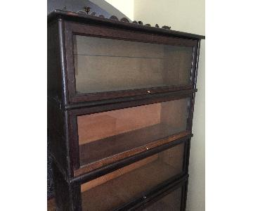Antique 5-Tier Barrister Bookcase