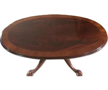 Ethan Allen Traditional Mahogany Coffee Table