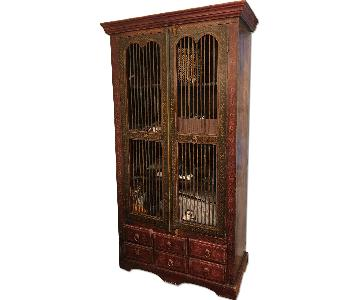 ABC Carpet and Home Indian Cabinet