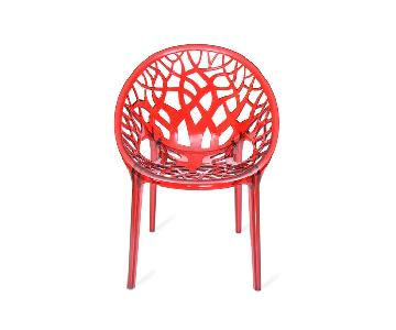 Polycarbonate Crystal Chair