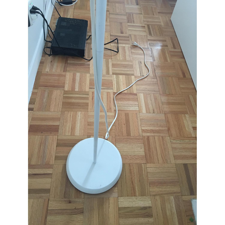 White Floor Uplight/Reading Lamp - image-3