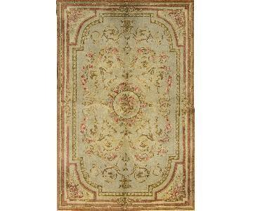 Savonnerie Traditional Hand Woven Rug