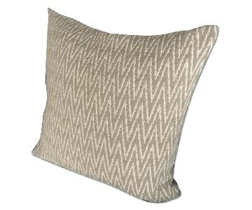 Room & Board Linen Knife Edge Pillow