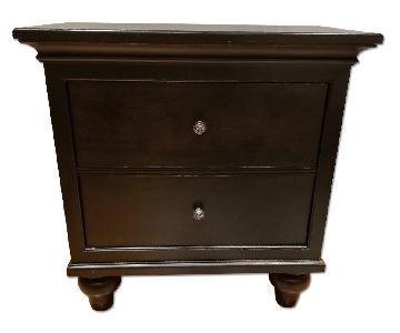 Raymour & Flanigan Wood Side Table/Nightstand